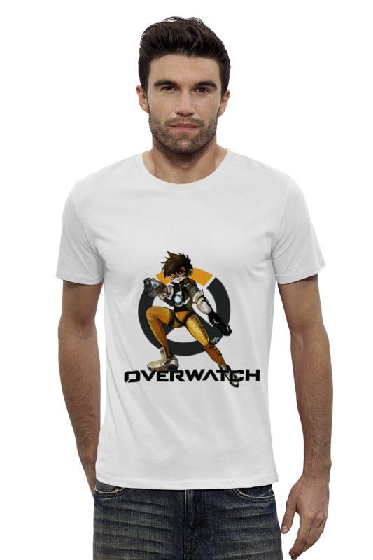 Футболка Wearcraft Premium Slim Fit Printio Overwatch tracer