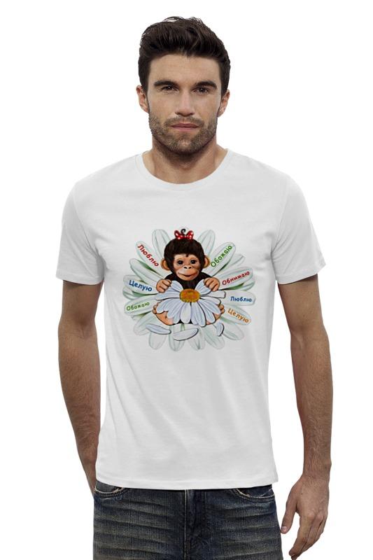 Футболка Wearcraft Premium Slim Fit Printio Год обезьяны 2016