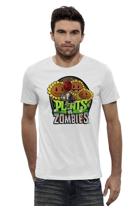 Футболка Wearcraft Premium Slim Fit Printio Plants vs zombies мягкая игрушка plants vs zombies котенок на присоске 15 см