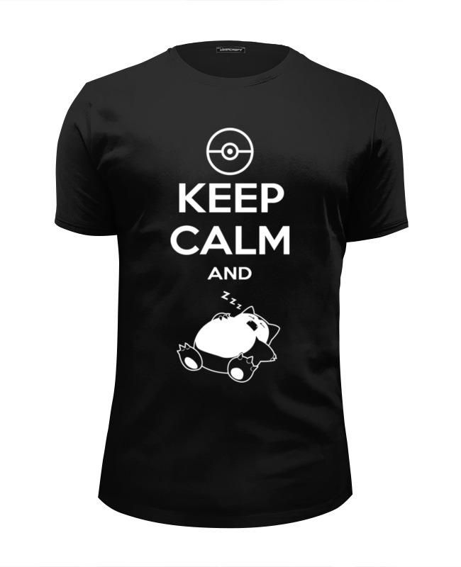 Футболка Wearcraft Premium Slim Fit Printio Keep calm and zzz (pokemon) футболка wearcraft premium printio keep calm and zzz pokemon