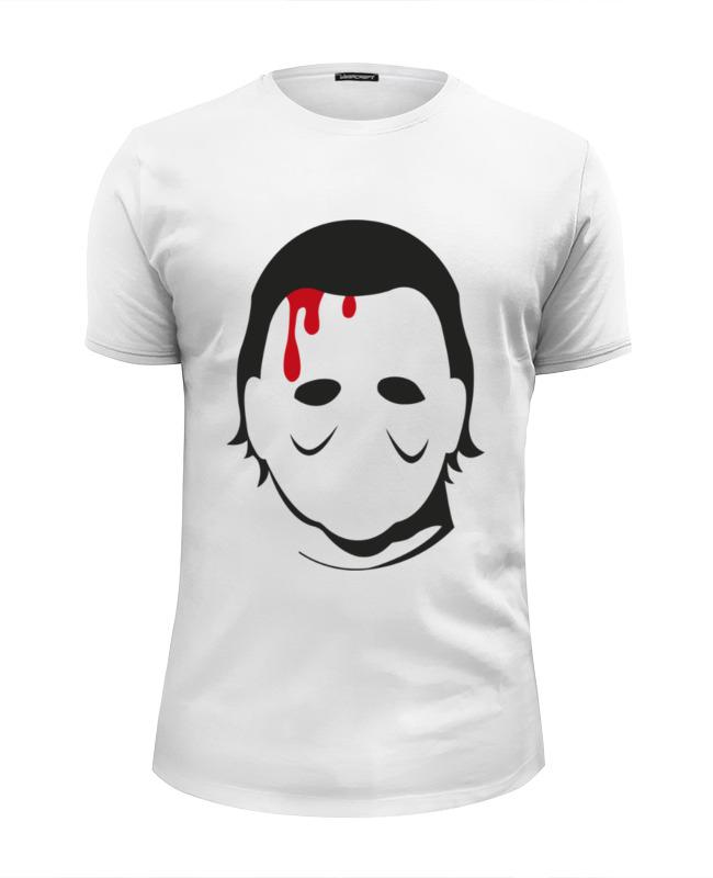 Футболка Wearcraft Premium Slim Fit Printio Кожаное лицо футболка wearcraft premium printio тони монтана лицо со шрамом
