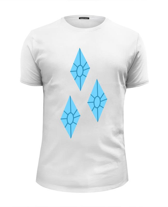 Футболка Wearcraft Premium Slim Fit Printio Алмазы (моя маленькая пони) футболка wearcraft premium slim fit printio пони dubstep