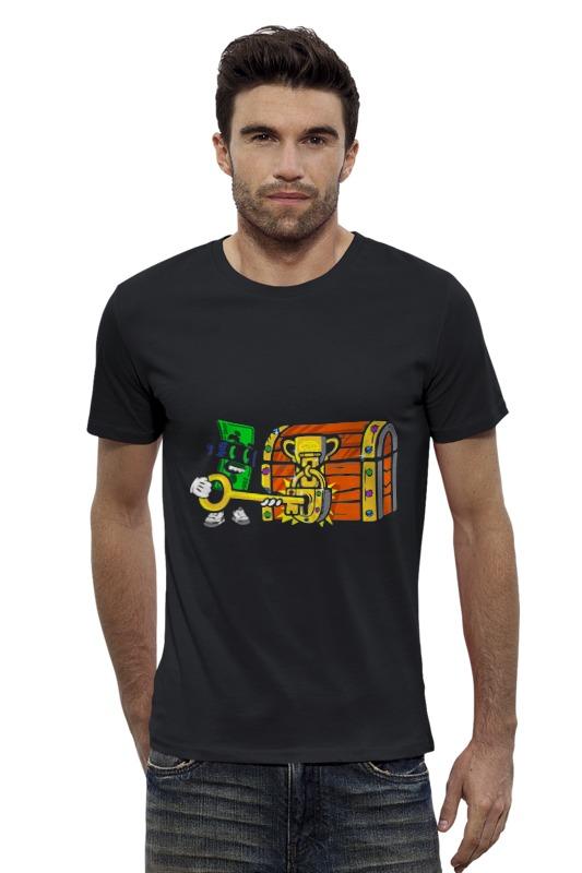 Футболка Wearcraft Premium Slim Fit Printio Приз футболка wearcraft premium slim fit printio vampire