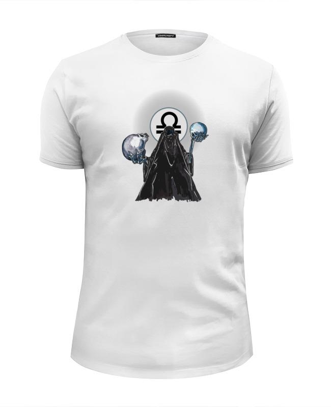 Футболка Wearcraft Premium Slim Fit Printio Знаки зодиака - весы angel wight весы знаки зодиака