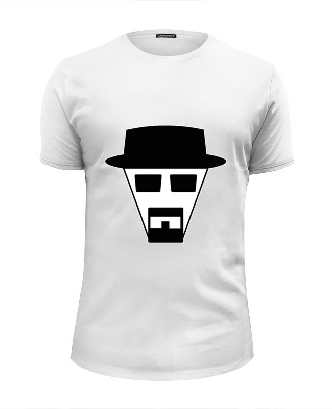 Футболка Wearcraft Premium Slim Fit Printio Хайзенберг (во все тяжкие) футболка wearcraft premium slim fit printio во все тяжкие хайзенберг