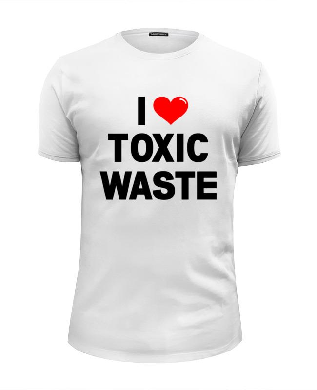Футболка Wearcraft Premium Slim Fit Printio I love toxic waste (real genius)