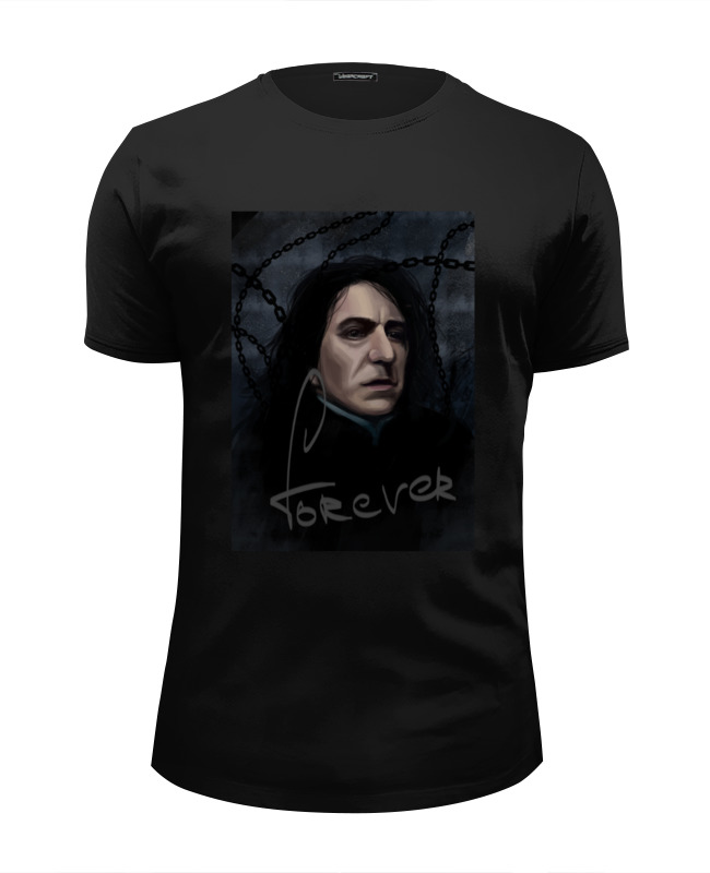 Футболка Wearcraft Premium Slim Fit Printio Severus snape