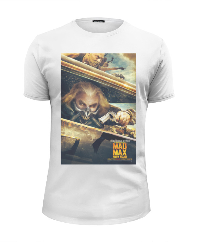 Футболка Wearcraft Premium Slim Fit Printio Mad max fury road футболка wearcraft premium printio mad max