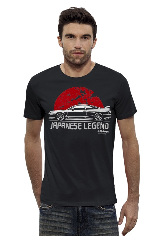 Футболка Wearcraft Premium Slim Fit Printio Nissan skyline r33 футболка wearcraft premium slim fit printio nissan gtr r35