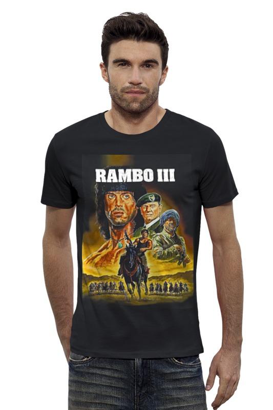 Футболка Wearcraft Premium Slim Fit Printio Rambo