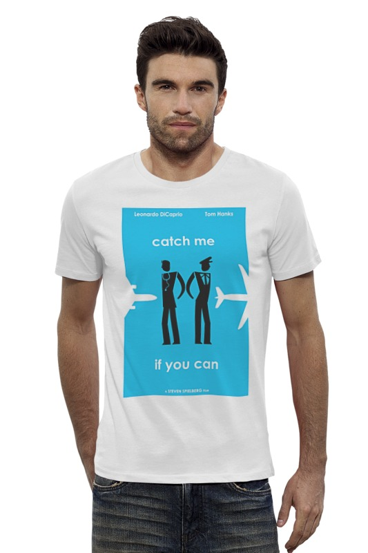 Футболка Wearcraft Premium Slim Fit Printio Catch me футболка для беременных printio мишка me to you