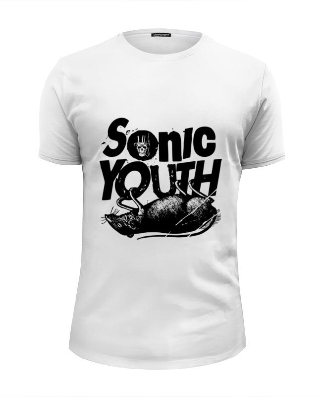 лучшая цена Футболка Wearcraft Premium Slim Fit Printio Sonic youth