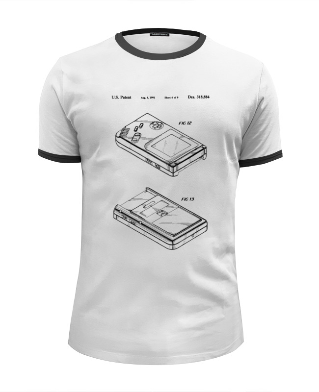 Футболка Wearcraft Premium Slim Fit Printio Gameboy футболка wearcraft premium slim fit printio пати на хате