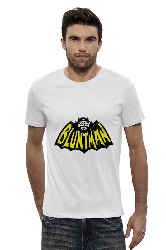 Футболка Wearcraft Premium Slim Fit Printio Bluntman футболка wearcraft premium slim fit printio avengers