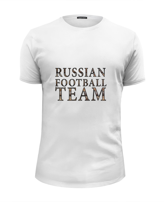 тюбинг сима ленд russian team 93cm 2872720 Футболка Wearcraft Premium Slim Fit Printio Russian football team