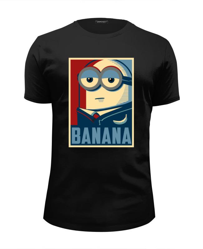 Футболка Wearcraft Premium Slim Fit Printio Banana футболка wearcraft premium printio banana