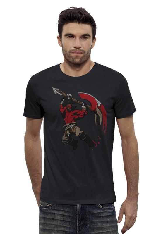 Футболка Wearcraft Premium Slim Fit Printio Axe. dota 2 футболка wearcraft premium slim fit printio saints row 2 blak