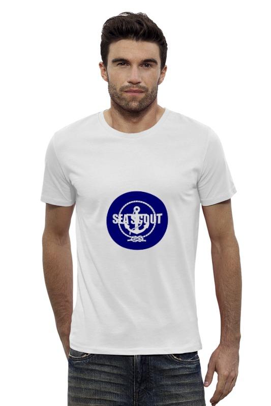 Футболка Wearcraft Premium Slim Fit Printio Морской разведчик футболка wearcraft premium slim fit printio голубой морской кит кашалот