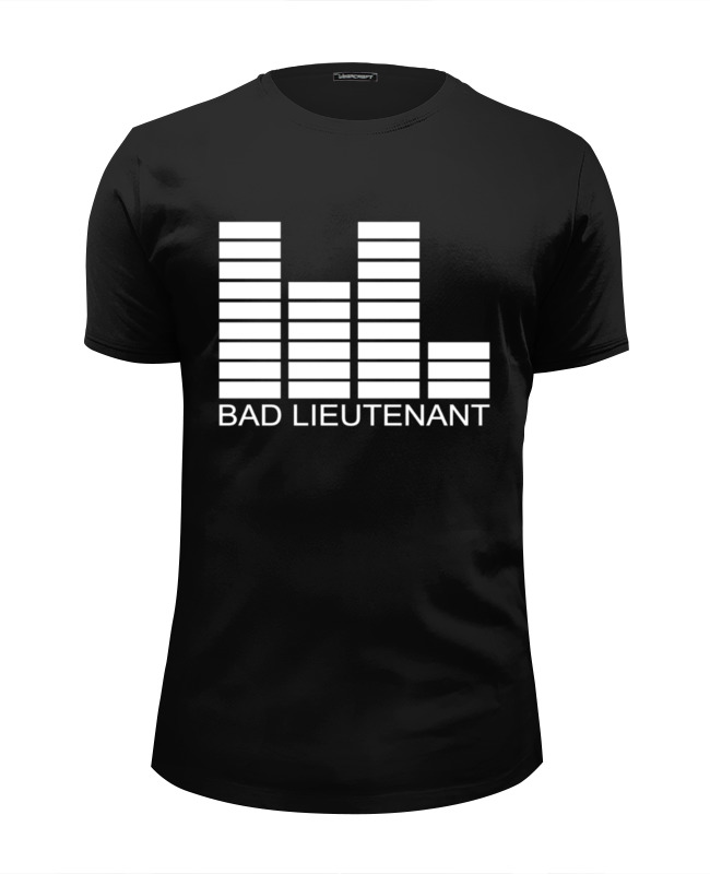Футболка Wearcraft Premium Slim Fit Printio Bad lieutenant майка классическая printio bad lieutenant