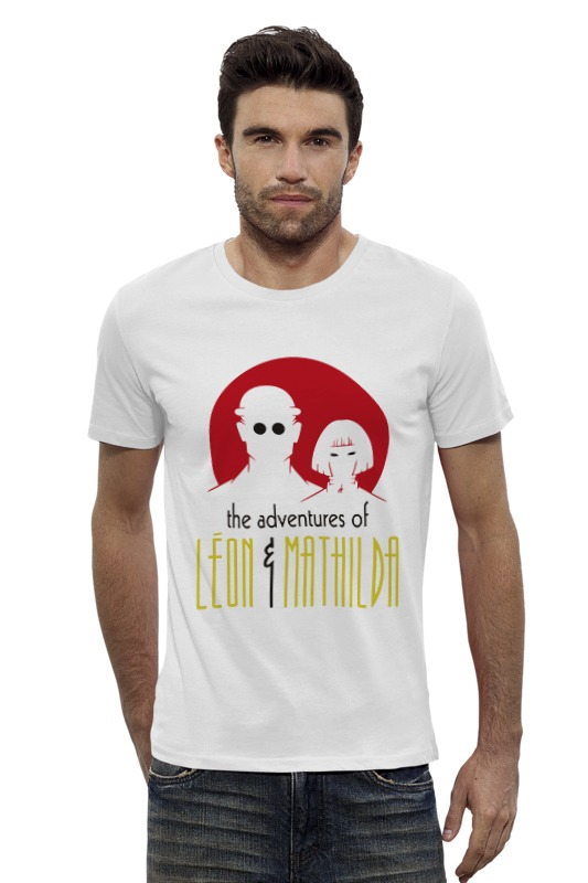 Футболка Wearcraft Premium Slim Fit Printio Leon & mathilda футболка wearcraft premium slim fit printio фильм леон leon
