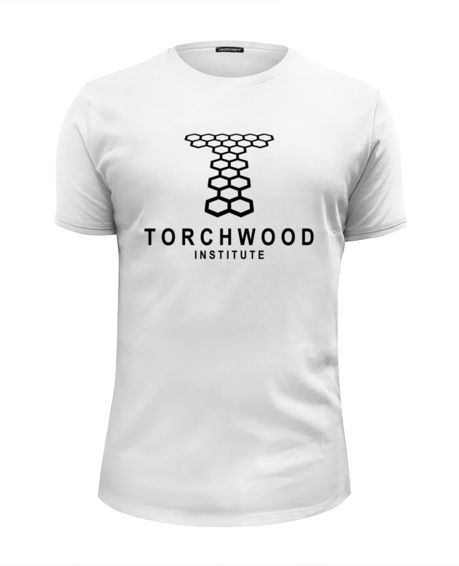 Футболка Wearcraft Premium Slim Fit Printio Torchwood