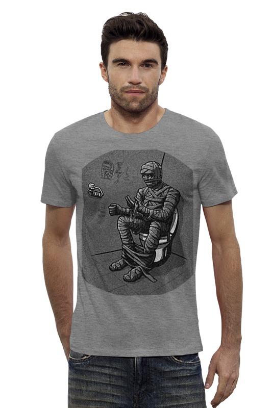 Футболка Wearcraft Premium Slim Fit Printio Mummy футболка wearcraft premium slim fit printio республика удмуртия ижевск