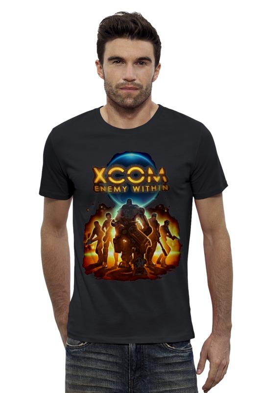 Футболка Wearcraft Premium Slim Fit Printio X-com 2 футболка wearcraft premium slim fit printio space jam x jordan