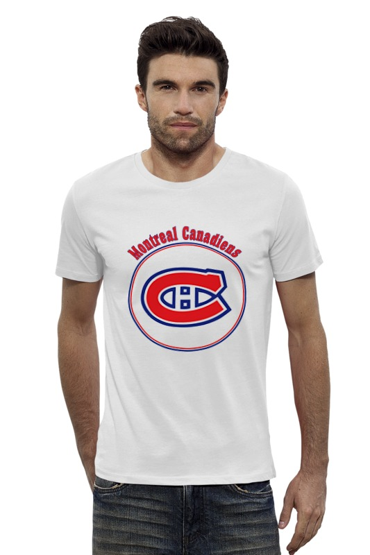 Футболка Wearcraft Premium Slim Fit Printio Montreal canadiens футболка wearcraft premium printio montreal canadiens