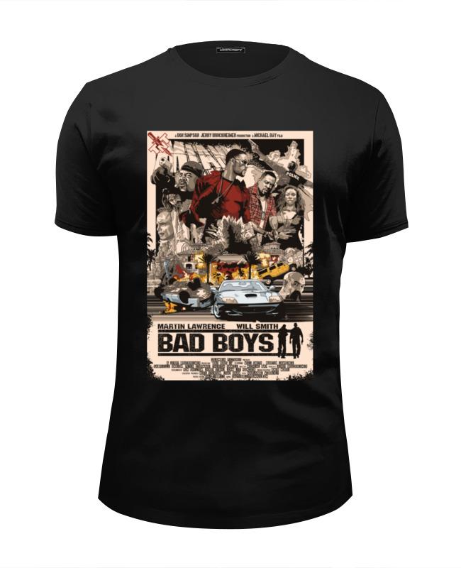 Футболка Wearcraft Premium Slim Fit Printio Плохие парни (bad boys)