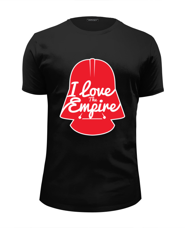 Футболка Wearcraft Premium Slim Fit Printio Love the empire футболка wearcraft premium slim fit printio empire time