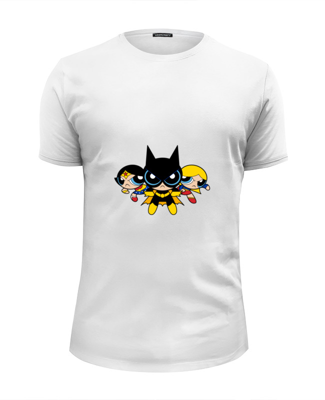 Футболка Wearcraft Premium Slim Fit Printio Супер девушки футболка wearcraft premium printio девушки