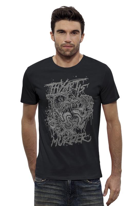 Футболка Wearcraft Premium Slim Fit Printio Thy art is murder футболка wearcraft premium slim fit printio psy art arsb