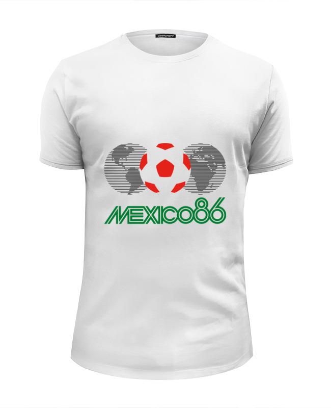 Футболка Wearcraft Premium Slim Fit Printio Чемпионат мира по футболу в мексике 1986 год футболка рингер printio чемпионат мира