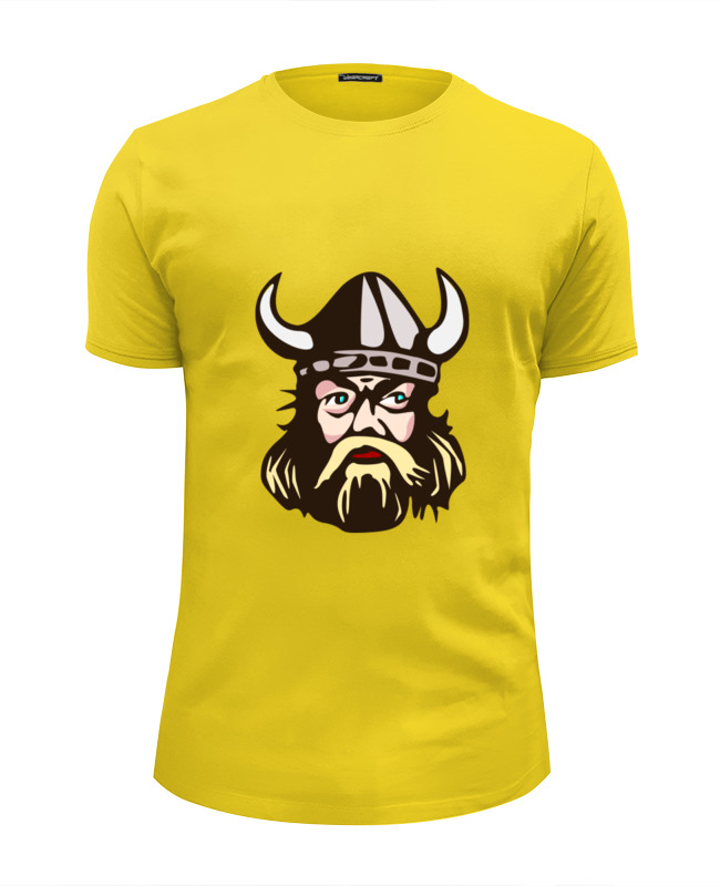 Футболка Wearcraft Premium Slim Fit Printio Веселый викинг футболка викинг
