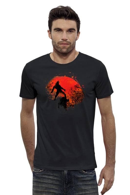 Футболка Wearcraft Premium Slim Fit Printio В ночь на хэллоуин футболка wearcraft premium slim fit printio верхом на облаке