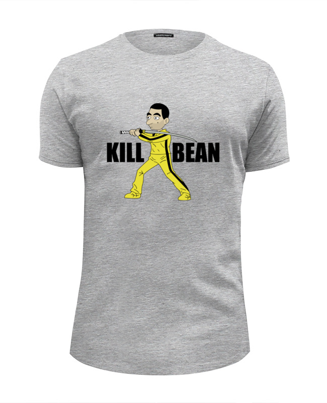 Футболка Wearcraft Premium Slim Fit Printio Kill bean футболка классическая printio kill bean