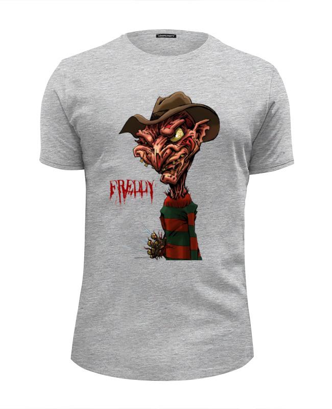Футболка Wearcraft Premium Slim Fit Printio Freddy krueger футболка стрэйч printio freddy krueger