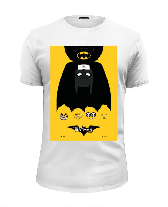 Футболка Wearcraft Premium Slim Fit Printio Лего фильм: бэтмен / the lego batman movie lego batman movie 70909 лего фильм бэтмен нападение на бэтпещеру