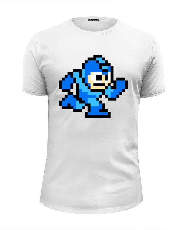 Футболка Wearcraft Premium Slim Fit Printio Mega man (8-bit) футболка wearcraft premium slim fit printio spider man