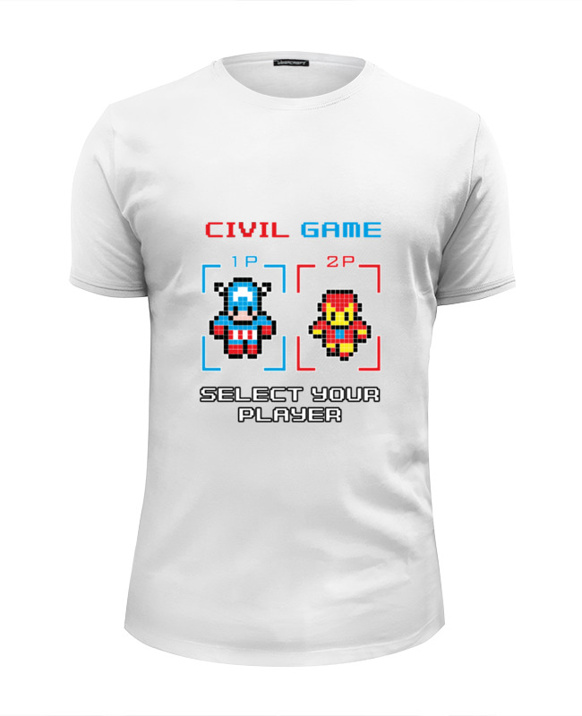 Футболка Wearcraft Premium Slim Fit Printio Капитан америка (железный человек) капитан америка удивительный человек паук 2 железный человек перчатки мультфильм детей игрушки передатчик