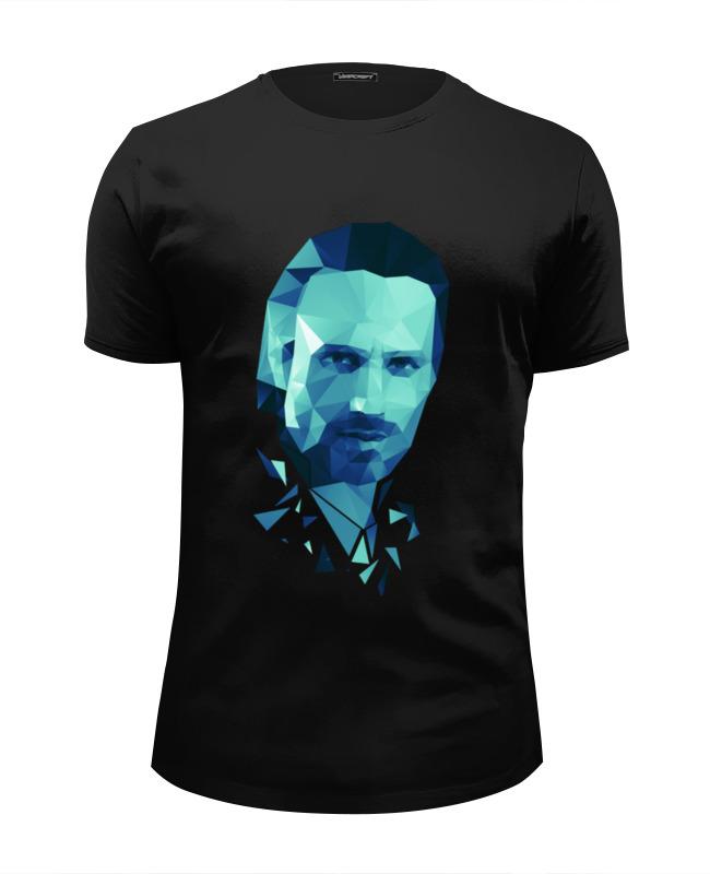 Футболка Wearcraft Premium Slim Fit Printio Ходячие мертвецы футболка wearcraft premium slim fit printio рик и морти