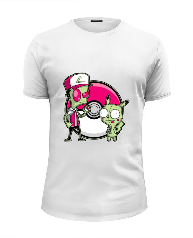 Футболка Wearcraft Premium Slim Fit Printio Захватчик зим (покемон) футболка wearcraft premium slim fit printio покемон кадабра