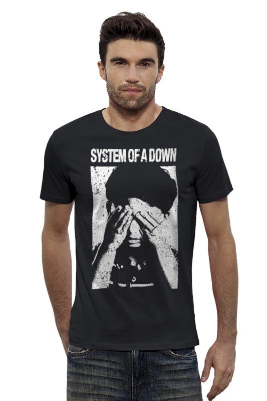 Футболка Wearcraft Premium Slim Fit Printio System of a down футболка для беременных printio system of a down
