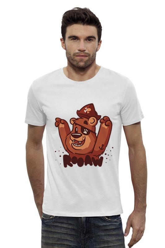 Футболка Wearcraft Premium Slim Fit Printio Мишка пират футболка wearcraft premium slim fit printio мишка me to you
