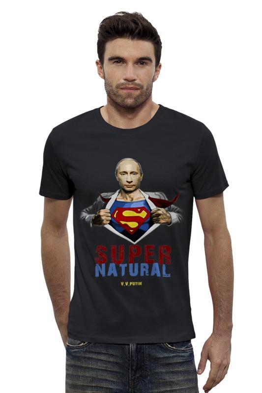 Футболка Wearcraft Premium Slim Fit Printio Путин - сверхъестественный футболка wearcraft premium slim fit printio винчестер supernatural