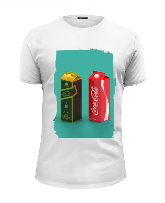 Футболка Wearcraft Premium Slim Fit Printio Whisky cola средство чистящее techpoint powerclean для очистки плит и духовых шкафов 500 мл