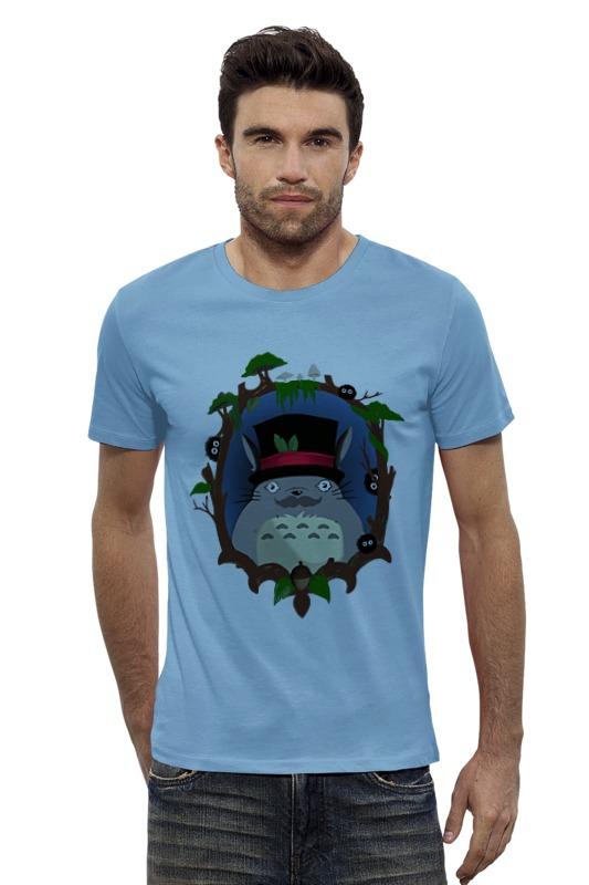 Футболка Wearcraft Premium Slim Fit Printio Тоторо футболка wearcraft premium slim fit printio голубой морской кит кашалот