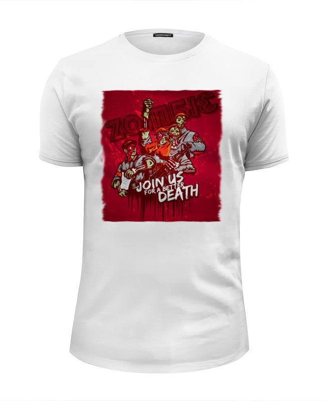 Футболка Wearcraft Premium Slim Fit Printio Зомби советского союза футболка классическая printio зомби советского союза