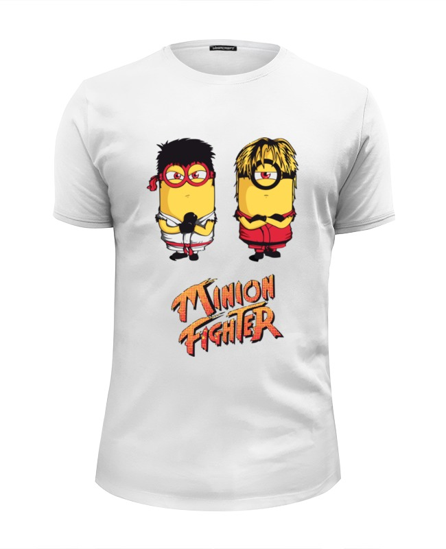 Футболка Wearcraft Premium Slim Fit Printio Minion fighter цена