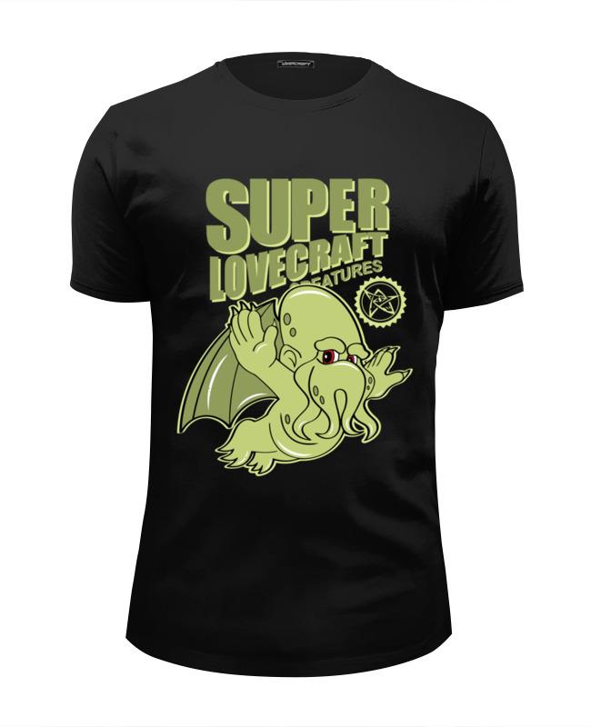 Printio Супер-ктулху футболка wearcraft premium slim fit printio супер малыш